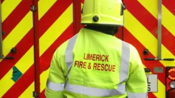 Emergency services attend house fire in Limerick town
