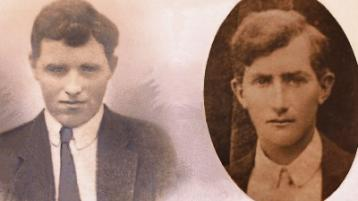 Limerick men killed in action after Mass - 100 years ago today!