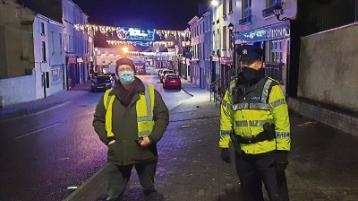 On the beat in Rathkeale for a subdued New Year's Eve
