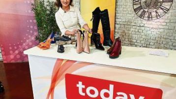 Limerick Fashion: Lockdown laughs after laptop snafu - Celia Holman Lee