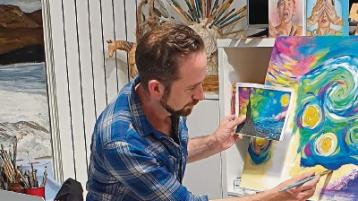 Limerick School of Art and Design graduate draws on his artistic reserves during pandemic