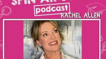 Rachel Allen speaks to students about careers