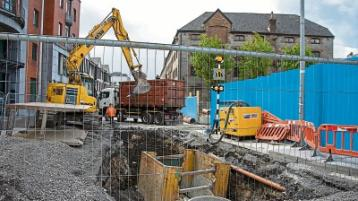 No evidence of dust at Limerick development site