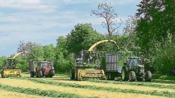 Limerick farmers and road users reminded of silage season dangers