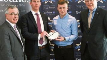 Busy times for Limerick's teenage sports star Anthony Barrett