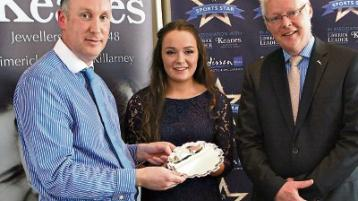 Stack achieves one of her camogiegoals