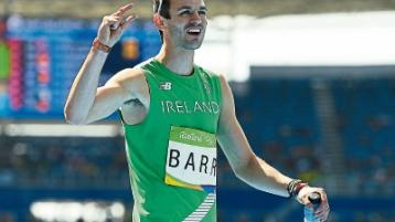 UL's Barr 'bittersweet' feeling after fourth place finish in Olympic final