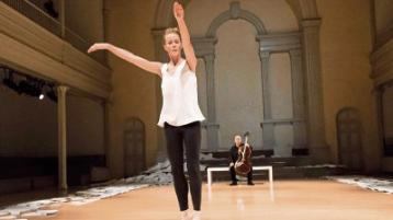 Jean Butler's irish dance at the Lime Tree Theatre