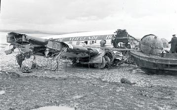 SLIDESHOW: Quick thinking stopped 1954 plane explosion at Shannon Airport