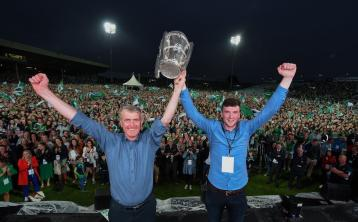 Four nominations for Limerick hurlers in RTE Sports Awards