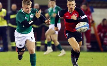 Limerick scrum-half bags brace of tries as Ireland U20s ease past Italy in Six Nations