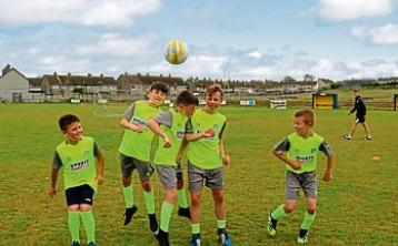 SLIDESHOW: FAI host Summer soccer school at Carew Park FC