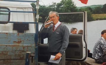 Castleconnell Boat club pay tribute following the passing of former President Sean Hartigan