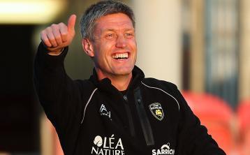 Head coach Ronan O'Gara signs contract extension at La Rochelle