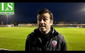 WATCH: Treaty Utd boss Tommy Barrett's reaction to precious win over Athlone