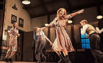 Lisa Lambe as Oonagh in Jimmy's Hall, running at the Lime Tree until Saturday Picture: Ros Kavanagh