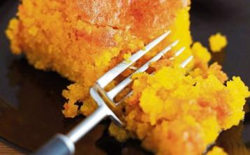 All About Food: A polenta cake that is pack full of deliciousness