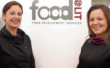 Dr Tracey Larkin PhD, left, and Agnes Bouchier Hayes, the co-founders of Food@LIT Picture Michael Cowhey