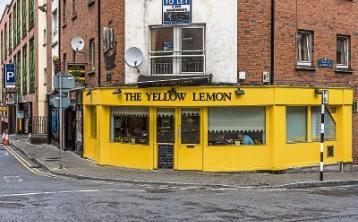 The Yellow Lemon Cafe on High Street/Upper Denmark Street has closed