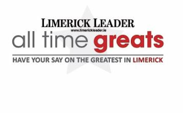 Battle to get underway to crown Limerick's All Time Great