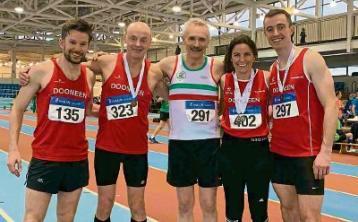 Limerick athletic stars 'Master' the indoors