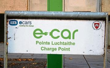 Limerick council has not sought funding for additional e-car charging points
