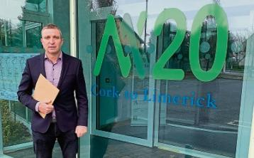 Minister objects toproposed M20 routes in County Limerick