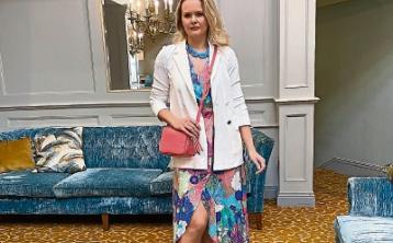 Fab fashion on a 'Banner' day - Celia Holman Lee