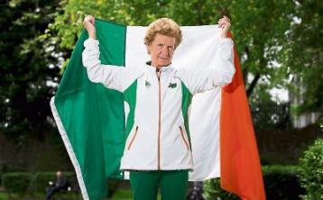 Mary, 72, proves age is no barrier to sporting excellence
