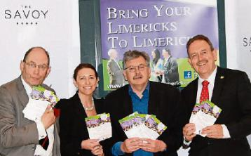 Finalists do battle to be 'king ofLimerick writers'