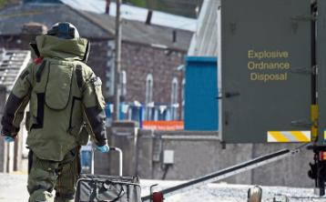 Explosive device found at Limerick garda station