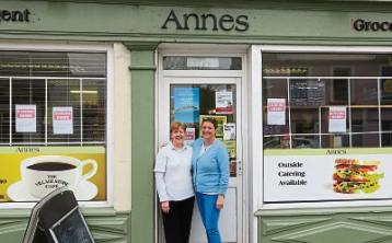 Cash register till rings for last time in County Limerick shop