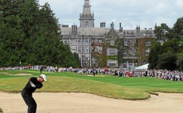 Golfers at Limerick's Adare Manor tosink putts and pints at new 'Halfway House'