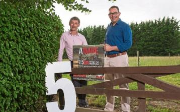 Event directors Ray Nash and Mark Tuohy pictured at the launch of Adare to Survive