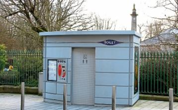 The public toilet at Mallow Street in Limerick city