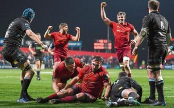Resolute Munster consign Glasgow to second Pro14 defeatof the season
