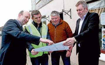 Limerick village looking to future as work starts on community shop and cafe