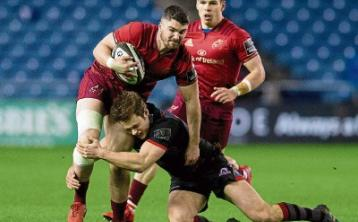 Munster suffer frustrating Pro14 defeat away to Edinburgh