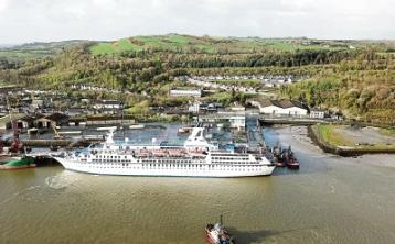 WATCH: Boost for Limerick as cruise ship MV Astor docks at Foynes Port