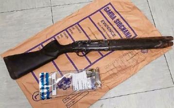 Sawn off shot gun seized during raid in Limerick