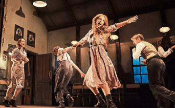 Sarah Madigan, Ruth McGill, Lisa Lambe and Muiris Crowley in the Abbey Theatre's touring production of Jimmy's Hall, which opens at the Lime Tree Theatre on July 14 Picture: Ros Kavanagh