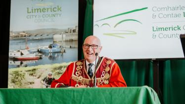 WATCH: Outgoing Mayor of Limerick has 'No regrets despite Covid-19 year'