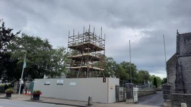 WATCH: Concern over soaring cost of restoring historic water fountain in Limerick village