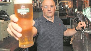 WATCH: Limerick pubs back in business as indoor access is allowed
