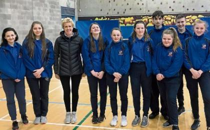 blind-folded speed dating? - Leinster Express