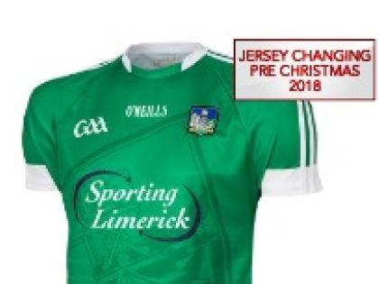 online store 3b3bb 074a6 New Limerick GAA jersey in shops soon - Limerick Leader