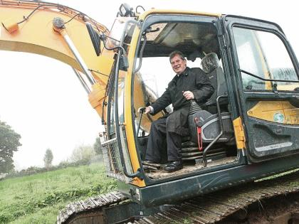JP McManus returns to his plant hire roots in Murroe