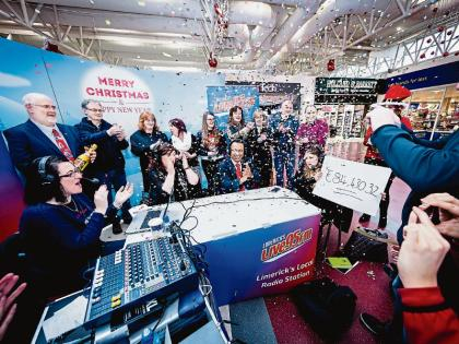 Limerick radio station's 95 stop tour raises €84,400
