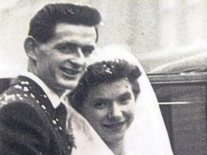 Diamond Limerick couple who found love in London over 60