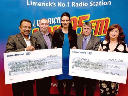 Live 95FM tour raises over €87,000 for good causes